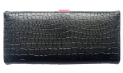 Women's Clutch Wallet with Drawstring Style Double Button Women Wallet Purse