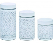 Purelife by Regalta Glass Canister Set - 3 Piece