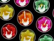 Cattleya Flower Tealight Candles 10 Pieces Per Pack.
