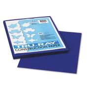 Tru-Ray Construction Paper, 34kg., 9 x 12, Royal Blue, 50 Sheets/Pack, Sold as 50 Sheet