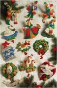 Partridge In A Pear Tree Ornaments Felt Applique Kit