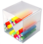 Deflecto Stackable Cube Organiser, X-Divider