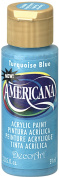 DecoArt Americana Acrylic Paint, 60ml, Turquoise Blue