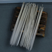 50 Pack 6 Inch(15cm) LONG UPHOLSTERER NEEDLES/Long Simple Needles Large Eye Needle for Sewing Act Crafts, Upholster ~ 150mm Long x 1.6mm thickness--Wholesale