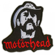 Motorhead Ian Lemmy Kilmister Patch Rock Heavy Metal Embroidered Iron On Patches