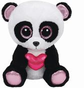 Ty Beanie Boos Cutie Pie The Panda with Heart Plush, medium