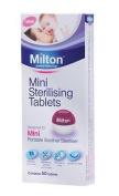Milton New Mini Baby Soother Teat Dummy Steriliser Sterilising Tablets