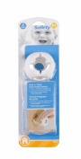 Safety 1st Grip N' Twist Door Knob Cover, 4-Count