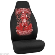 """Lil Wayne Seat Cover """"America's Most Wanted"""" By Bell - Fits Bucket Seats with and Without Headrests"""