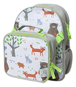 Backpack and Lunch Box Set, Forest