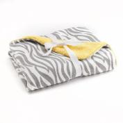 Just Born Zebra Printed Baby Blanket