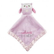 Plush Owl Blankie, Pink-Stepping Stones