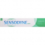 Sensodyne rapid relief mint toothpaste to relieve the pain of sensitive teeth 75ml - pack of 2