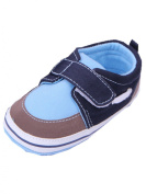 YICHUN Baby Boys Leisure Shoes Shoes Prewalker Shoes Simple Crib Soft Shoes