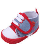 YICHUN Baby Shoes Prewalker Shoes Leisure Shoes Crib Soft Shoes Velcro Anti-Slip Sneaker