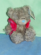 Me to You Tatty Teddy Plush 12 cm Velour Jacket with Hood Pink