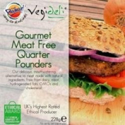 VBites - Redwood Meat-Free Quarter Pounders 228 g x 1