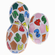 AbleGrow(TM) Colourful Soft Ball Baby Intelligence Toy Learning Number Animal Pattern Balls Baby kids football toy