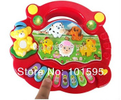 AbleGrow(TM) Children Kids Loved Music Piano Children Table Farm Music Learning Fancy Toys Kids Electronic Toys