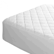 LUXURY EXTRA DEEP QUILTED MATTRESS BED PROTECTOR TOPPER FITTED COVER ALL SIZES (Cot Bed
