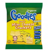 Organix Goodies Organic Mini Cheese Crackers 20G - Pack of 2