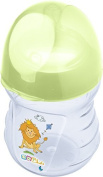 OKT Kids Near natural Bottle 250 ml Hippo green from 0 months anatomical Baby Bottle Anti Colic