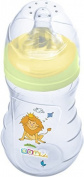OKT Kids Baby Wide neck bottle Premium 250 ml Baby Bottle from 0 months for newborn Hippo green