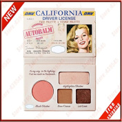 The Balm Cosmetics New CALIFORNIA Naked Matte Eyeshadow Palette Makeup Autobalm Driver Licence Face Palette