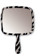Soft n Style Zebra Picture Mirror