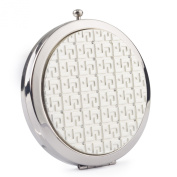 Round Compact Mirror (Silver)