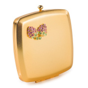 Square Compact Mirror (Gold)