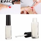 DANCINGNAIL 10ml White Peel Off Liquid Nail Art Tape Latex Hedge Palisade Easy Clean Salon