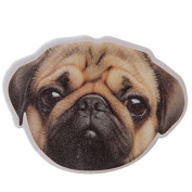 Pugs & Kisses Brown Pug Head Shaped Emery Board Nail File