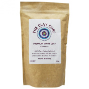 Premium White Kaolin Clay - 500g Superfine - Internal & External Use Facial Healing Clay