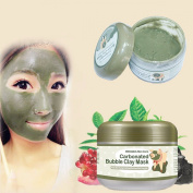 LuckyFine 100g Carbonated Bubble Clay Mask Whitening Oxygen Mud Moisturising Deep Cleaning