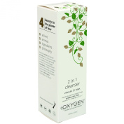Oxygen Skincare Women and Teen 2-in-1 Cleanser 200 ml - Pack of 6