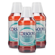 Corsodyl Mouthwash Mint Triple Pack