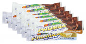 Promax Protein Bar-Double Fudge Brownie/Greek Yoghurt Honey Nut-6 of ea
