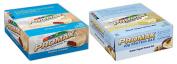 Promax Protein Bar-Cookies & Cream/Greek Yoghurt Honey Nut-12 of ea