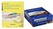 Promax Protein Bar-Choc Peanut Crunch/Lemon Bar-12 of ea