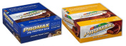 Promax Protein Bar-Choc Peanut Crunch/Nutty Butter Crisp-12 of ea