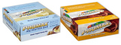 Promax Protein Bar-Greek Yoghurt Honey Nut/Nutty Butter Crisp-12 of ea