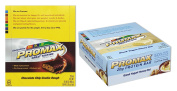 Promax Protein Bar-Chocolate Chip Cookie Dough/Greek Yoghurt Honey Nut-12 of ea