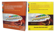 Promax Protein Bar-Chocolate Chip Cookie Dough/Double Fudge Brownie-12 of ea