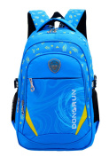 SellerFun Child Girl Boy Nylon Light Shoulders Student School Bag Backpack