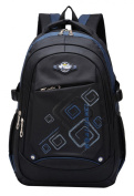 SellerFun Unisex Child Girl Boy Nylon Light Comfort Student School Bag Backpack