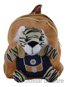 Wild Animal Backpack Rucksack Holiday Books 5 Assorted Animals Childrens TY3319 [Tiger]