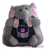 Wild Animal Backpack Rucksack Holiday Books 5 Assorted Animals Childrens TY3319 [Elephant]