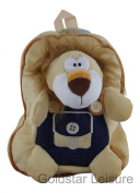 Wild Animal Backpack Rucksack Holiday Books 5 Assorted Animals Childrens TY3319 [Lion]