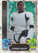 Disney Star Wars Force Attax The Force Awakens Special Holographic Foil Finn Trading Card